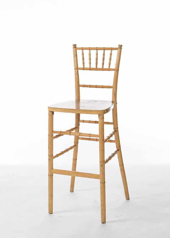 natural chiavari chairs poker table and set bar stool stuart event rentals
