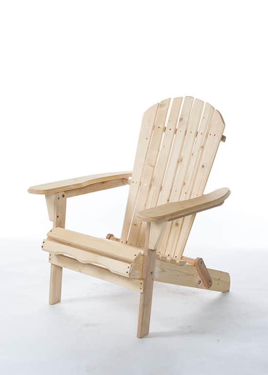hampton wooden beach chair