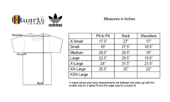 Adidas Size Guide