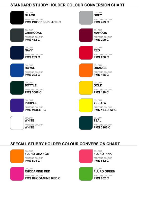 Stubby Base Colours