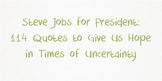 Steve-Jobs-for-President