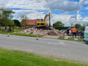 Where has Home Farm Cottage Gone?