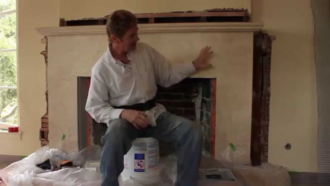 Interior Fireplace Plaster Repairs