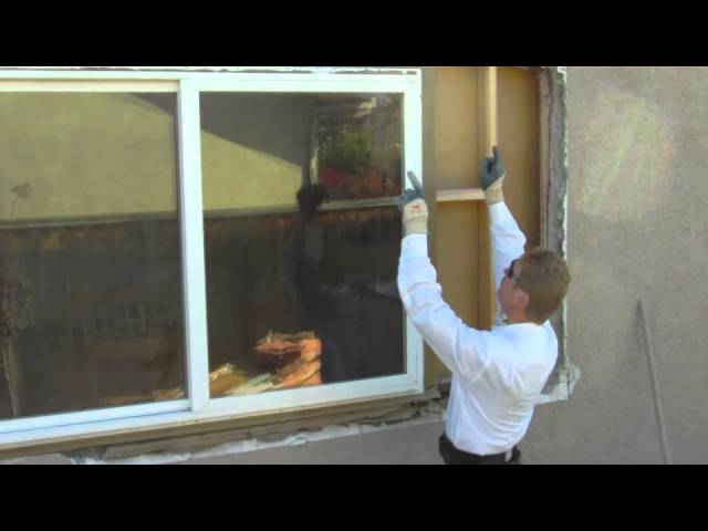 Full Video on how to waterproof a stud wall after new window install