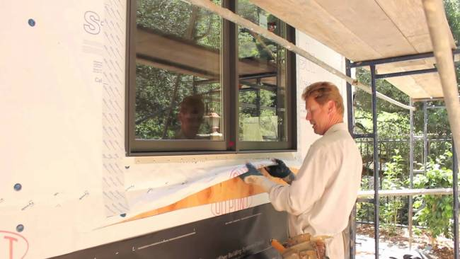 Fasten two ply paper over tyvek homewrap, Waterproof for stucco