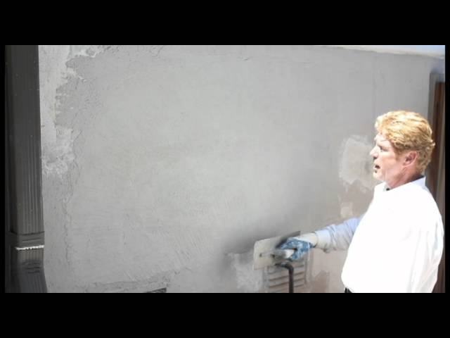Old world stucco sample, Just a sample video