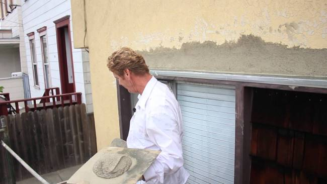 One Million views! Popular stucco patching videos, same day stucco