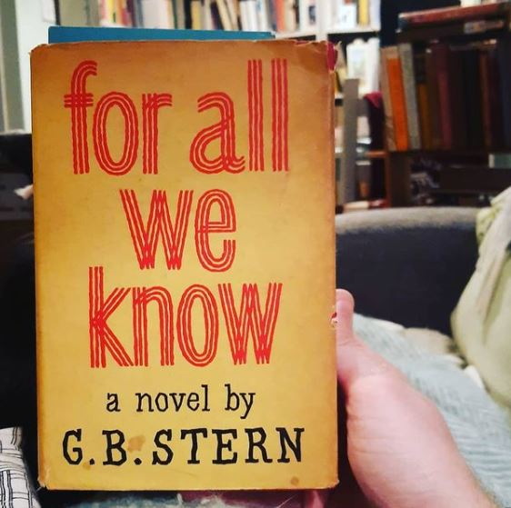 For All We Know by G.B. Stern