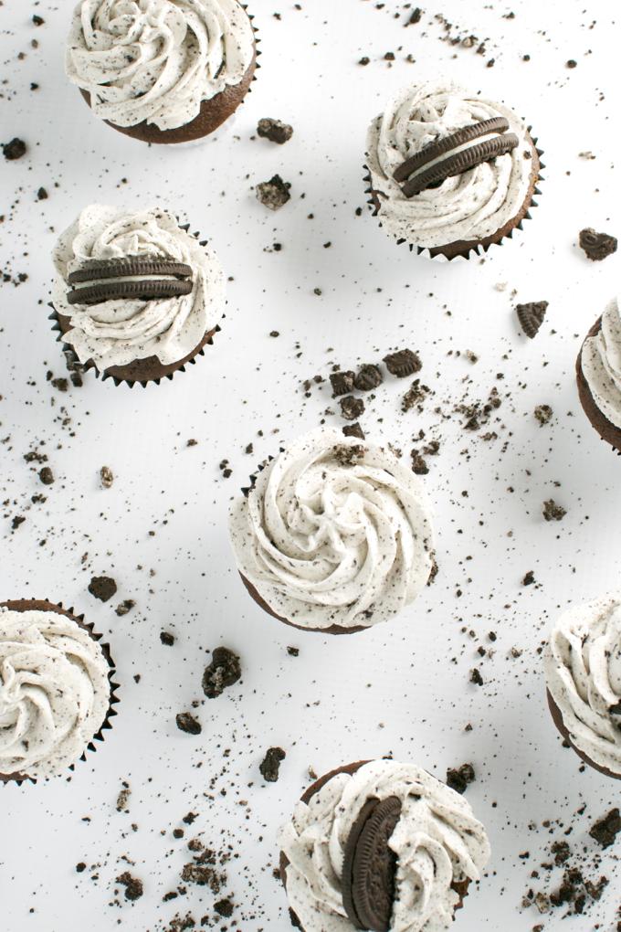 Oreco Cupcakes - stuckonsweet.com