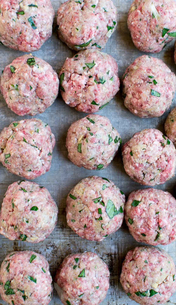 Meatball Sandwiches | www.stuckonsweet.com
