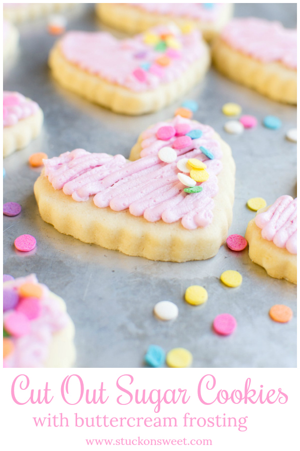 easy melt in your mouth cut out sugar cookies #stuckonsweet #cookies #recipe