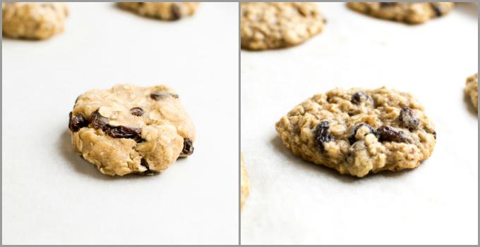 Oatmeal Raisin Cookies | www.stuckonsweet.com