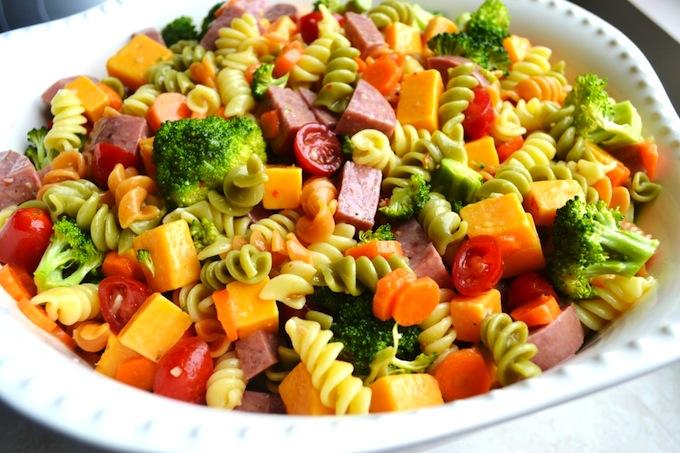 Italian Pasta Salad | stuckonsweet.com