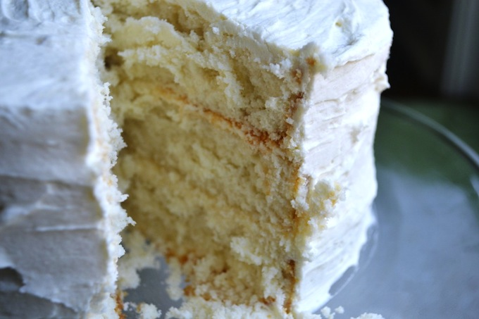White Almond Cake Stuckonsweet Com