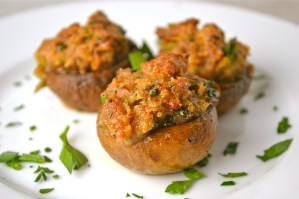 Italian Stuffed Mushrooms – Thanksgiving Appetizer