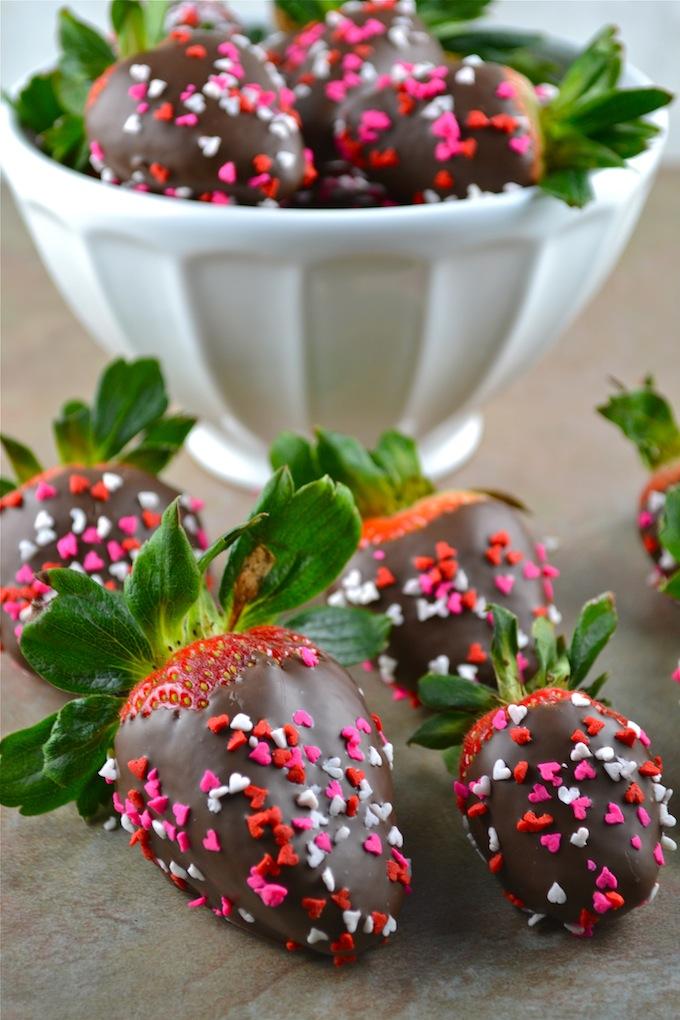 Chocolate Covered Strawberries | stuckonsweet.com