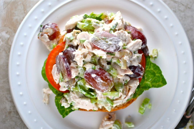 Chicken Salad Sandwich 4