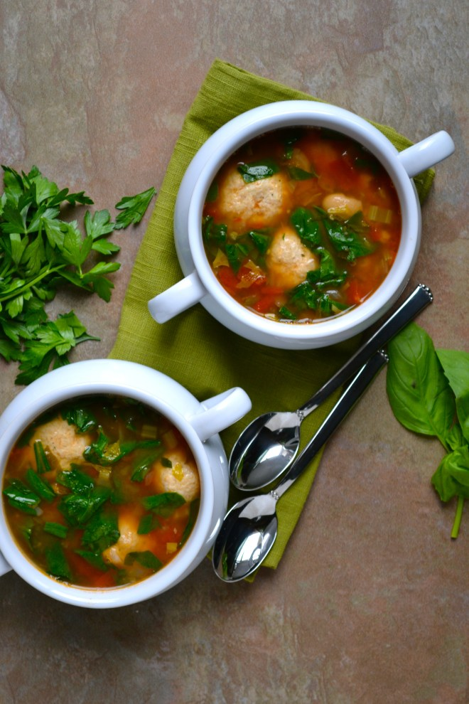 Turkey Meatball Soup 3