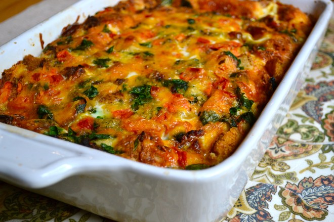 Egg and Sausage Breakfast Casserole 1