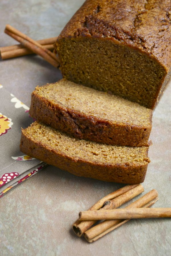 Pumpkin Bread - stuckonsweet.com