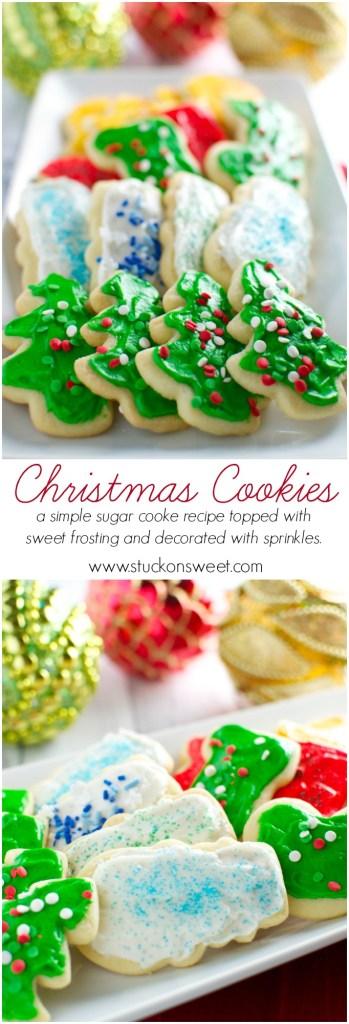 Christmas Cookies | stuckonsweet.com
