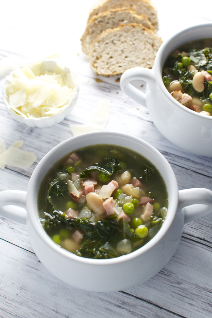 Kale and Bean Soup-11