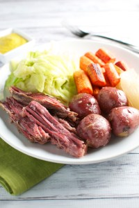 Corned Beef and Cabbage with the Fixins'