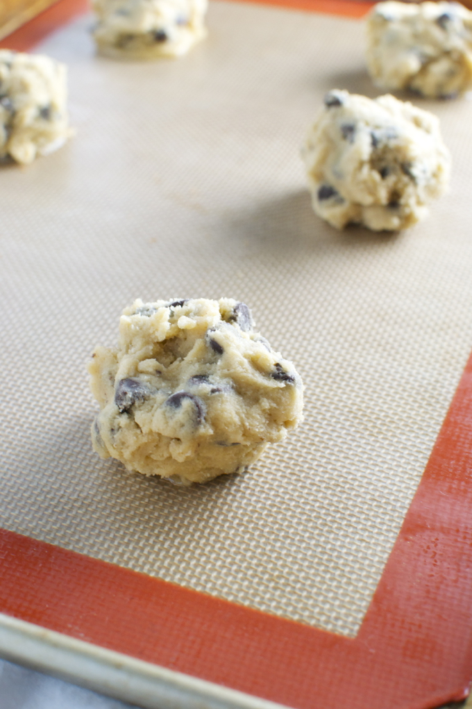 Bakery Style Chocolate Chip Cookies | stuckonsweet.com ...