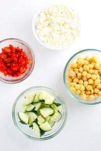 Greek Salad | stuckonsweet.com