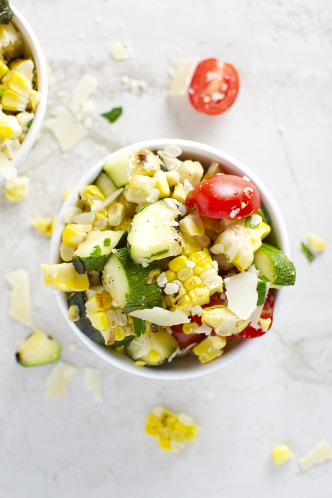 Grilled Corn and Zucchini Salad 2