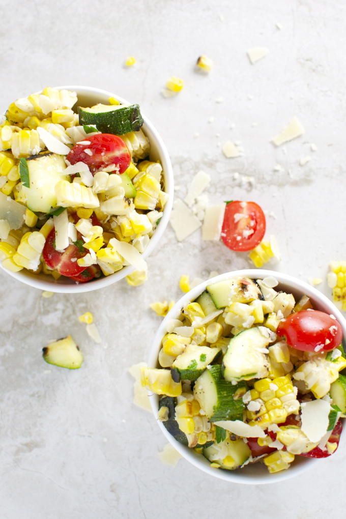 Grilled Corn and Zucchini Salad 3