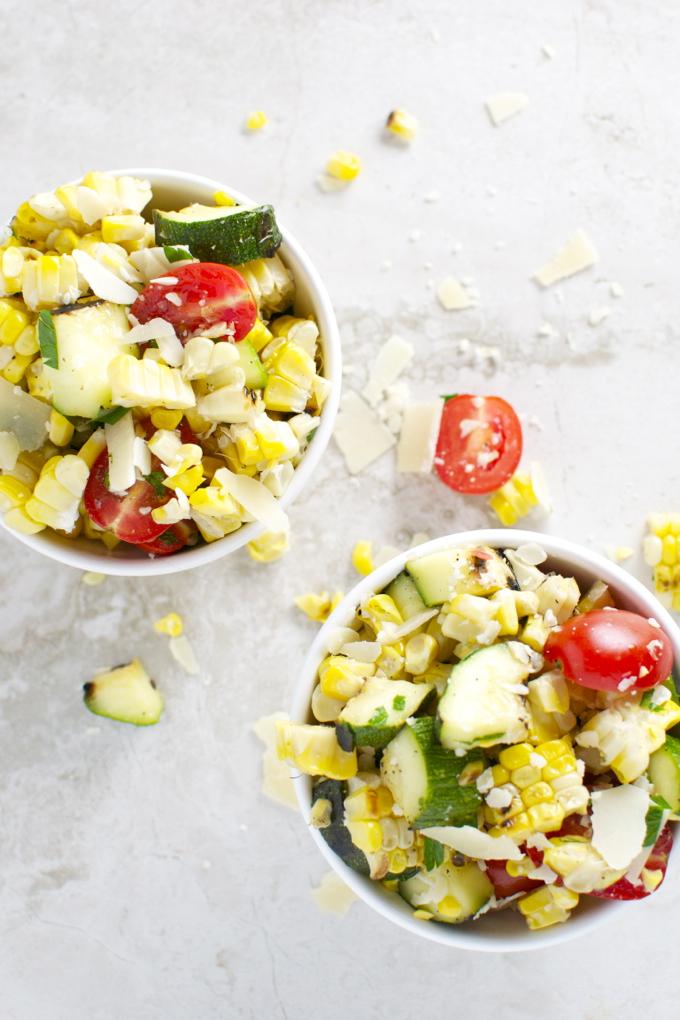 Grilled Corn and Zucchini Salad 3