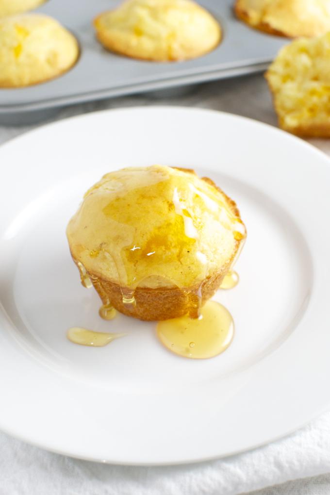 Cheesy Cornbread Muffins 3
