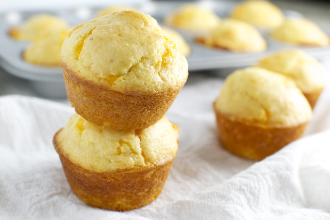 Cheesy Cornbread Muffins 4