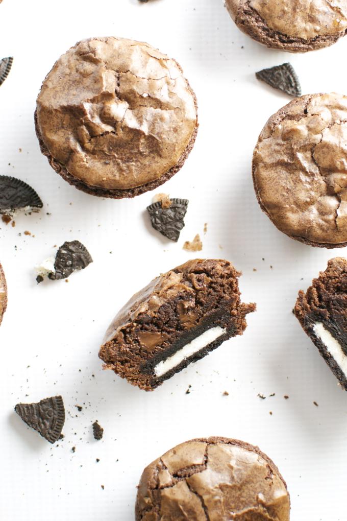 Oreo Brownie Cupcakes 2
