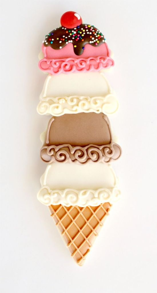 Ice Cream Cone Cookie