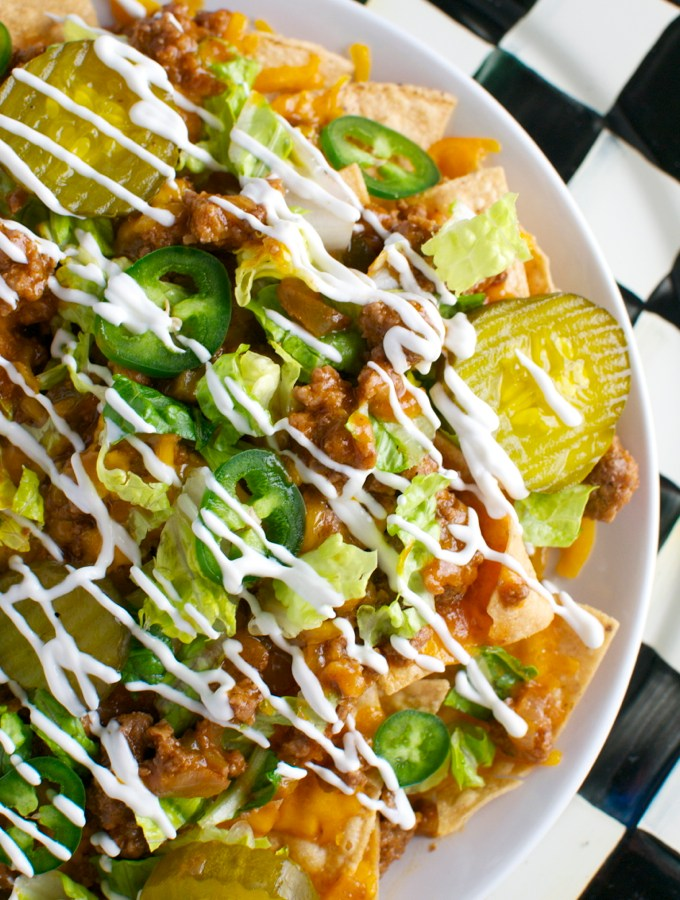 Sloppy Joe Nachos | www.stuckonsweet.com