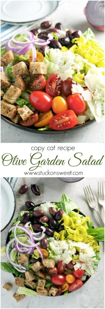 copy cat olive garden salad wwwstuckonsweetcom - Olive Garden Salad Calories