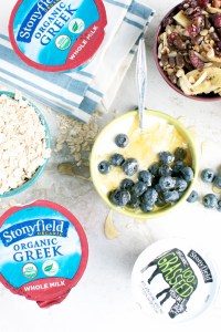 Stonyfield's New Grassfed and Whole Milk Yogurt