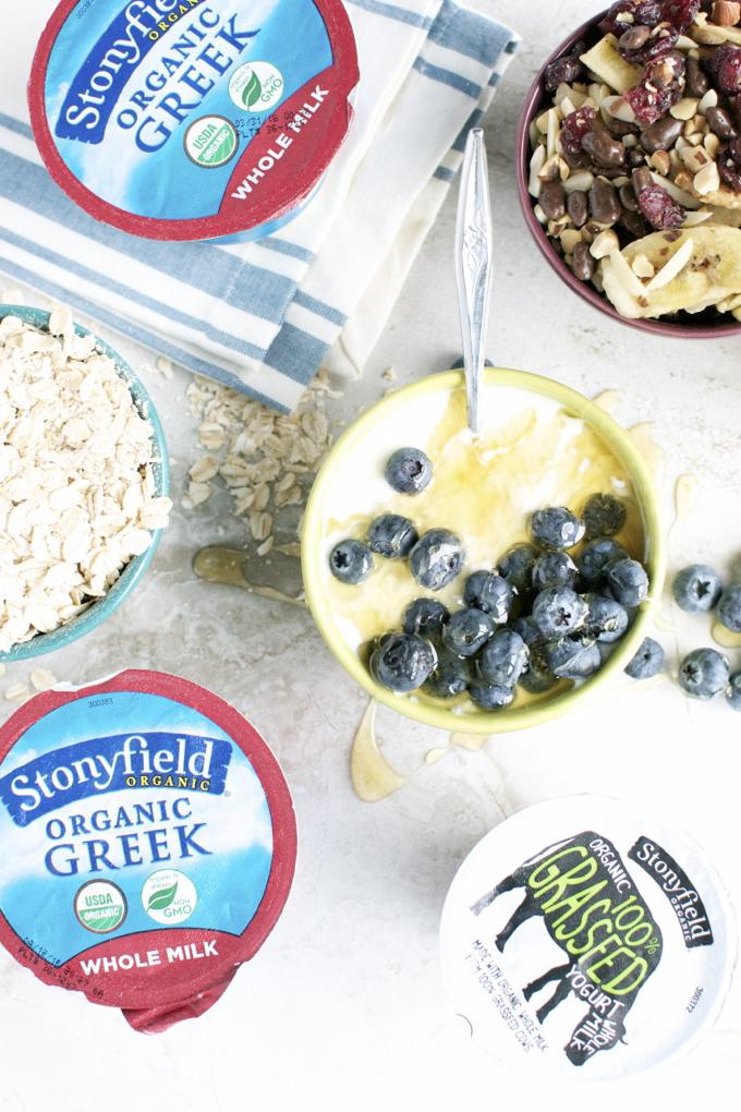 Stonyfield Whole Milk and Grassfed Yogurt1