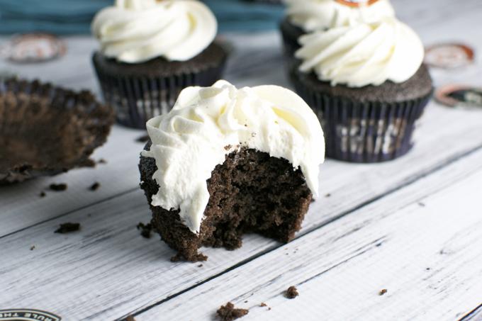 Gluten Free Chocolate Cupcakes| www.stuckonsweet.com