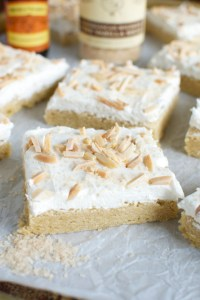 Almond Sugar Cookie Bars