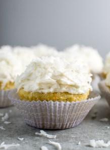 Coconut Cupcakes Image