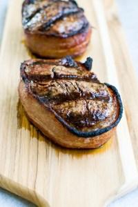 Bacon Wrapped Filet Mignon