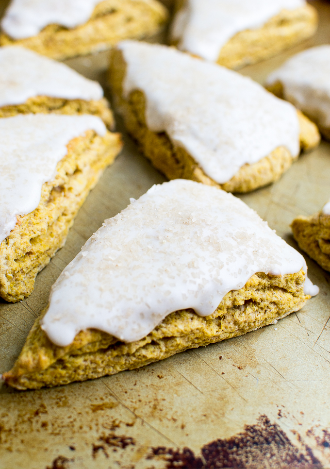 Perfect Pumpkin Scones