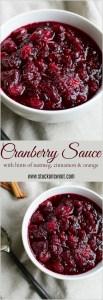 Easy, one pot Thanksgiving cranberry sauce! | www.stuckonsweet.com