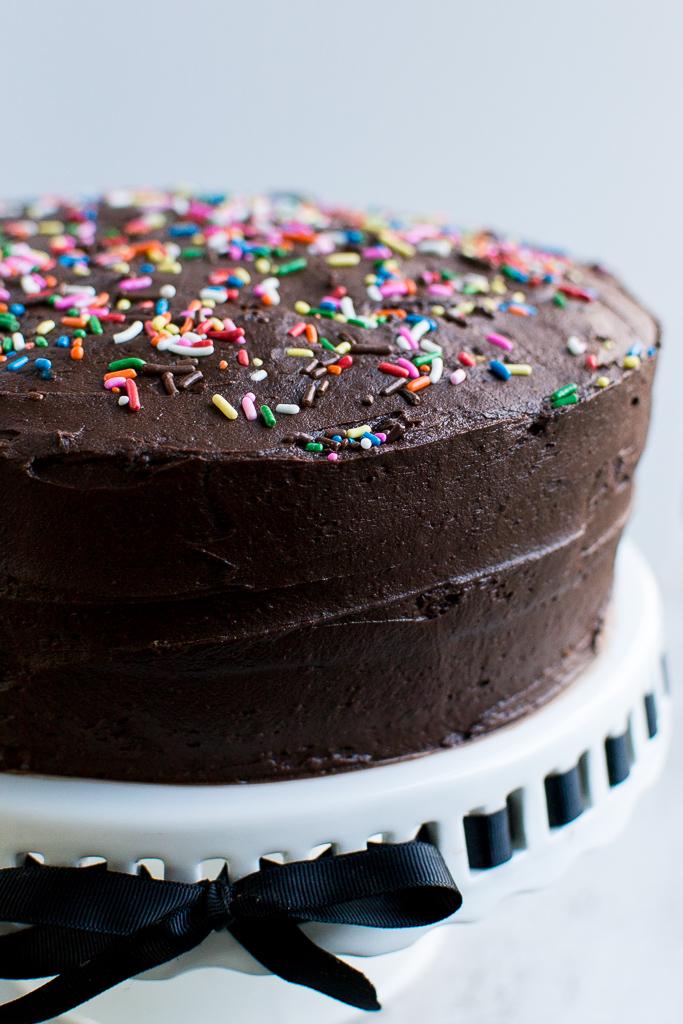 Yellow Cake Recipe & Chocolate Buttercream Recipe