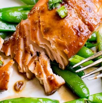 brown sugar soy salmon