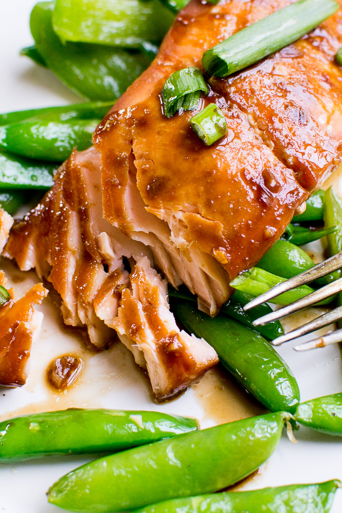 brown sugar soy salmon