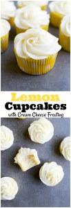 The BEST lemon cupcakes! These are made with the reverse creaming method making them super velvety!